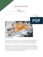 Simbolistica Tigrului