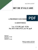 Anexa La HCL 226, Raport Evaluare