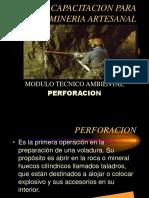 Perforacion y Voladura