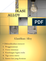 Klasifikasi Alloy