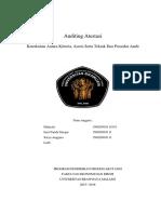 Tujuan, Kriteria, Asersi Dan Prosedur