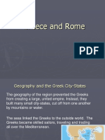 Greek and Roman