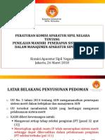 Evaluasi Penerapan Sistem Merit - BPKP (26 Maret 2018)