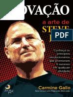 Inovação a Arte de Steve Jobs Carmine Gallo