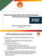 Evaluasi penerapan Sistem Merit Juni 2017.pptx