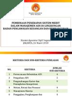 Pembinaan Penerapan Sistem Merit - BPKP (26 Maret 2018)