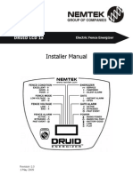 Druid LCD 13 and 15 Installer Manual