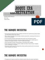 Baroque Era Orchestration (Cannon)