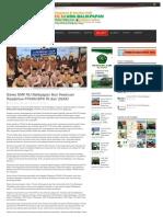 Berita Siswa SMK NU Balikpapan Ikuti Keseruan Roadshow FFKHN BPK RI dan USAID