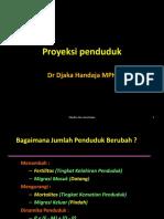Dr.djaka Proyeksi Penduduk