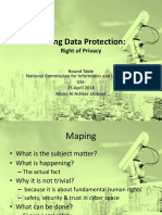 Talking Data Protection