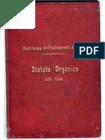 Arciconfraternita Dei Rossi Di Messina - Statuto1902