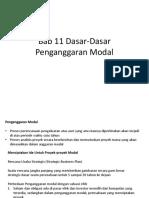 Bab 11 Dasar-Dasar Penganggaran Modal.pptx