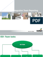 EDI-System Integration Team Reporting-Proposal