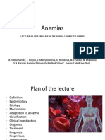 Lecture Anemia