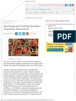 Assessing and Treating Disorders of Primary Hemostasis - The Clinical Advisor