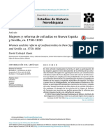 Mujeres y reforma de cofradías en Nueva Espana˜ y Sevilla, ca. 1750-1830