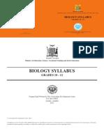 Biology Grade 10 - 12