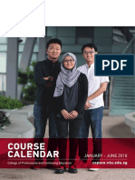 NTU Course Calendar Jan Jun 2018