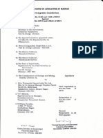 Affidavit by Tamil Nadu Industries Secretary Vikram Kapur disputing the Joint Inspection Report