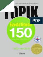Topik Essential Grammar 150 Intermediate English