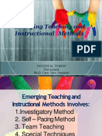 Emerging Methods