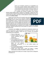 reporte de experimento acidos y bases
