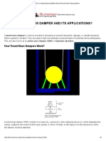 What is Tuned Mass Damper and Applications in Buildings