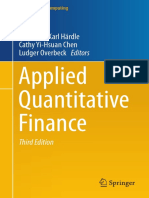 Applied Quantitative Finance Third Edition