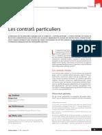 Contrats Particuliers Contrats Mixtes