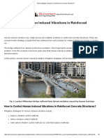 How to Mitigate Vibrations in Reinforced Concrete Structures