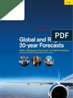 ICAO 9956 Global & Regional 20-Year Forecasts Pilots Maintenance ATC