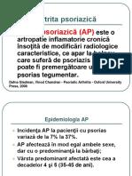 Prelegere Artrita Psoriazica Modificat