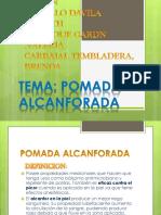 Pomada Alcanfor y Composicion de Lacrema Salicilida