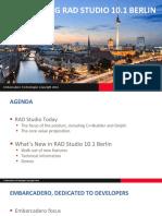 Rad Studio 101 Berlin Launch