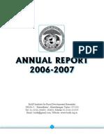 BAIF 2006 - 07