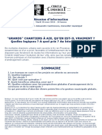 Cercle Condorcet Réunion Grands chantiers 20 Mars 2018