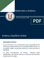 Clase_2 Estatica y resistencia de materiales.