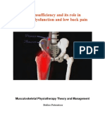 Psoas Insufficiency and Its Role in Sacroiliac Dysfunction