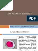 Zat Pewarna Eritrosin Sitihufihutami Fm15c