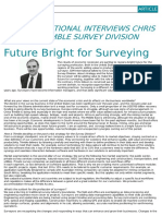 Future Bright for Surveying