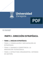 Tema 1. Analisis Estrategico