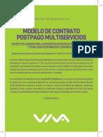 Nuevo Contrato Postpago Multiservicios