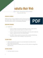 mannahatta muir web lesson plan