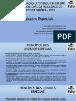 Apresentação João Felipe Calmon Nogueira Da Gama- Princípios Nos Juizados Especiais e CPC-15