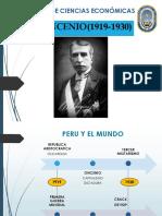 El Oncenio de Augusto b. Leguia