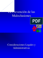 La Prevención de Las Maloclusiones2