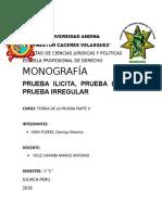 Monografia d Teoria de La Prueba -