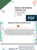 SIM Risiko Teknologi Informasi Kel.6
