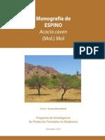 Monografía Espino (Acacia caven)